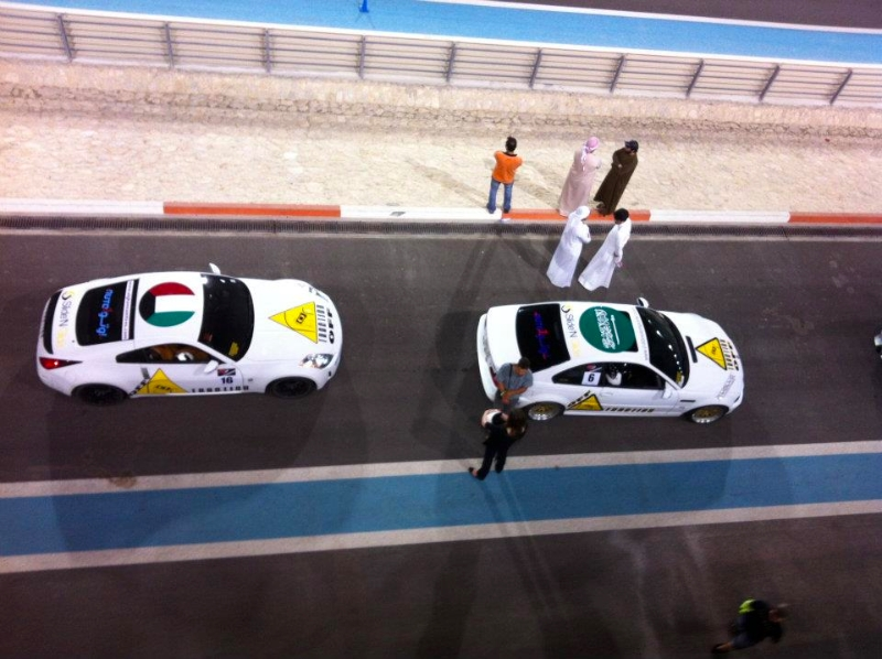 Pitlane from the top